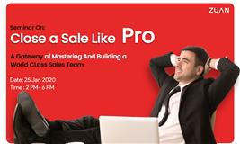 Close a Sale Like a Pro (Business Development Seminar 2020)