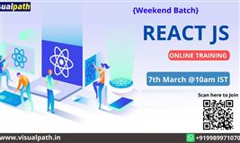 React JS Online training | React JS training in hyderabad