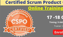 Certified Scrum Product Owner Online Training