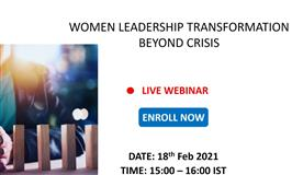 [Webinar] Women Leadership: Transformation beyond Crisis