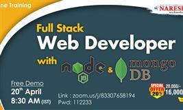 Full stack web developer online training