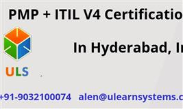ITIL V4 and PMP Certification Training Course Hyderabad, India