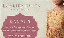 Farida Gupta Kanpur Exhibition