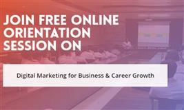 Join Free Online Webinar on Digital Marketing