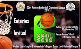 25th Ramjas Basketball Champions League 2019