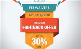 Fee Waivers - The Great Fightback Offer - Pandemic Vs Your Career