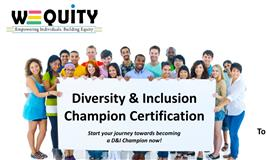 Diversity & Inclusion Champion Certification