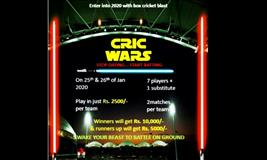 CRIC WARS BOX CRICKET LEAGUE