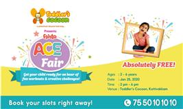 Flinto ACE Fair @ Toddler's Cocoon, Kottivakkam