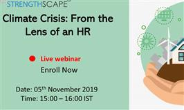 [Free Webinar] Climate Crisis: From the Lens of an HR