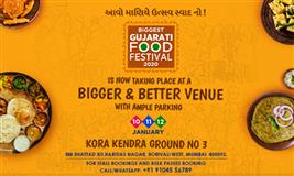 Biggest Gujarati Food Festival 2020
