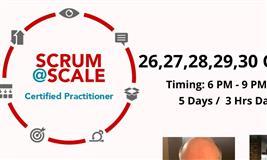 Scrum@Scale Certified Practitioner Online Workshop