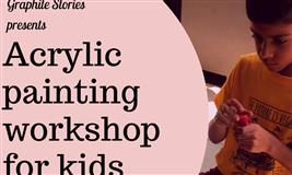 Acrylic Painting workshop for Kids