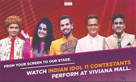 Indian Idol 11 finalists to perform at Viviana Mall