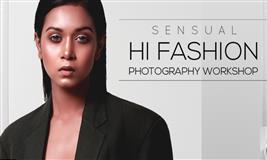 SENSUAL FASHION PHOTOGRAPHY WORKSHOP-Mumbai