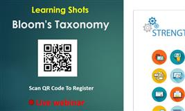 Learning Shots: Bloom's Taxonomy