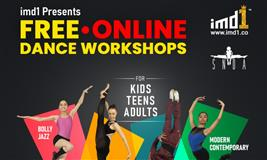 imd1 presents Free Online Dance Courses by Sumeet Nagdev Dance Arts