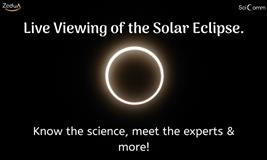 Live Viewing of Solar Eclipse