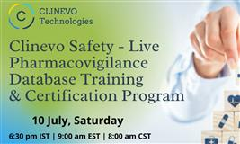 Clinevo Safety – Pharmacovigilance Database Free Live Training & Certification Program