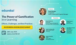 The Power of Gamification  in e-Learning