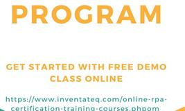 Free Demo class for RPA certification program