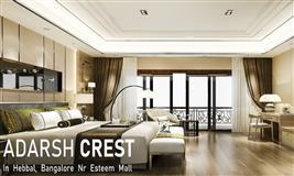 Adarsh Crest Hebbal, North Bengaluru - Pre Launch - Reviews, Location & Broucher