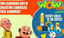 Summer Bonanza with Wow Kidz Academy - Art, Photoshop & Character Design.