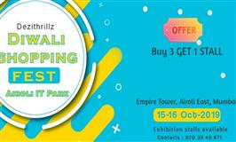 Dezithrillz Diwali Shopping Fest at Airoli IT Park, Mumbai - BookMyStall