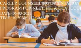 Career Couseling Orientation Program on NEET, JEET & CLAT Courses