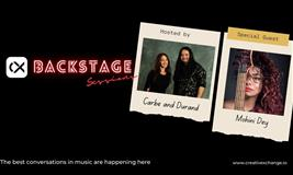 CX Backstage Sessions - Mohini Dey with Liza Carbè and JP Durand