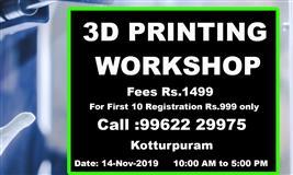 3D Printing Workshop One Day - Nexgen3D