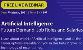 Free Artificial Intelligence Webinar at Future Demand, Job Roles and Opportunities