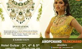 AT Jewellers Exhibition at Jabalpur