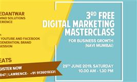 3rd Free Digital Marketing Masterclass for Business Growth