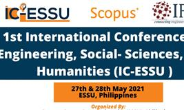1st international Conference On Engineering,Social -Sciences,And Humanities(IC-ESSU)