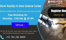 Register For Data Science Free Interactive Workshop On Saturday,14th Dec @ 10 AM