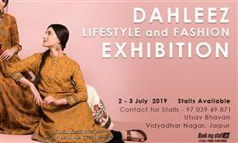Dahleez Lifestyle and Fashion Exhibition at Jaipur - BookMyStall