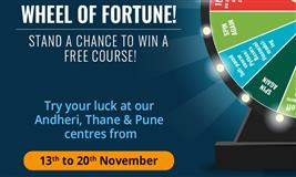 Spin the Wheel and Win a Free Course!