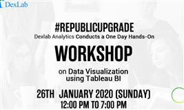 One Day Workshop in Data Visualization with Tableau