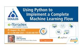 Webinar: Using Python to Implement a Complete Machine Learning Flow