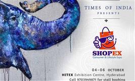Shopex Lifestyle & Designer Expo at Hyderabad - BookMyStall