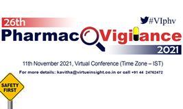 26th Pharmacovigilance 2021 (Virtual Conference)