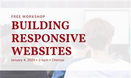 Free Workshop in Chennai: Building Responsive Websites