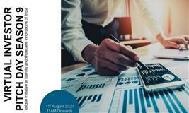 Virtual Investor Pitch Day Season 9