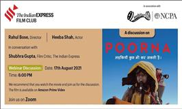 """The Indian Express Film Club Discussion on """"Poorna"""""""