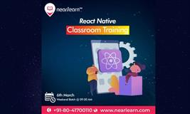 React Native Classroom Training Weekend course in Bangalore