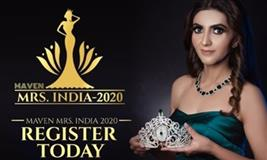 Maven Mrs India 2020 Auditions in Mumbai