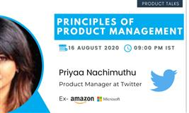 Principles of Product Management with Product Manager at Twitter