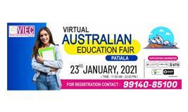 VIEC's Virtual Australian Education Fair, Patiala | 23rd January, 2021