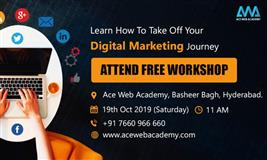 AWA Digital Marketing Free Workshop in Hyderabad